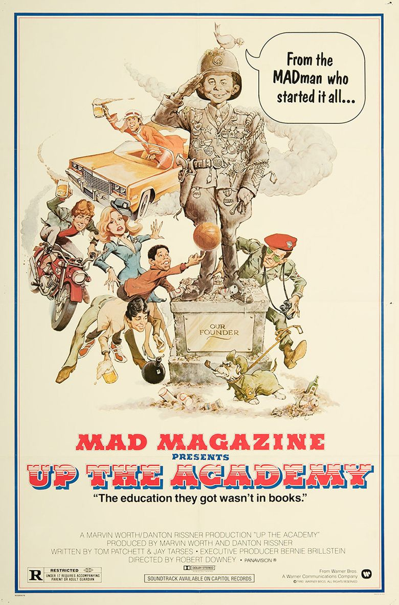 Up the Academy Poster