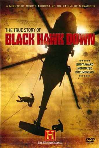 The True Story of Black Hawk Down Poster
