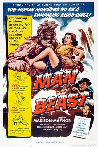 Man Beast Poster