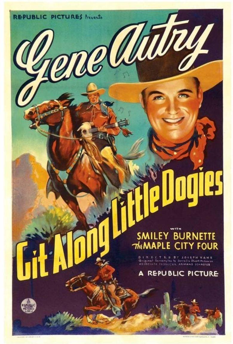 Git Along Little Dogies Poster