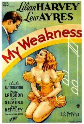 My Weakness Poster