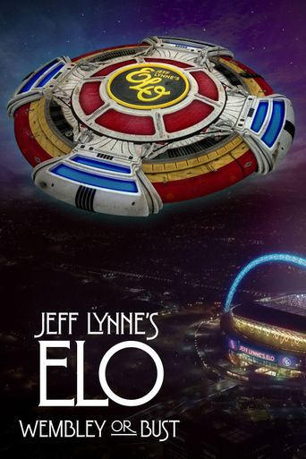 Jeff Lynne's ELO: Wembley or Bust Poster