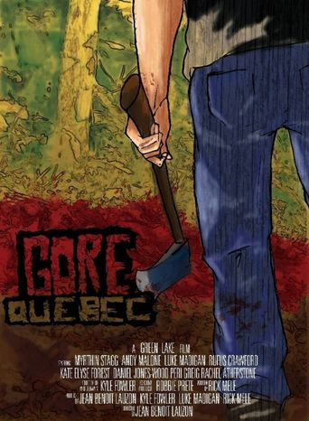 Gore, Quebec Poster