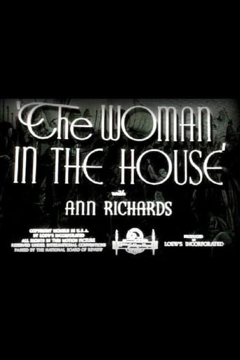 The Woman in the House Poster