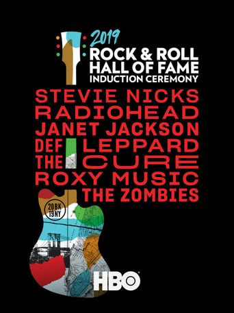 Rock and Roll Hall of Fame 2019 Induction Ceremony Poster