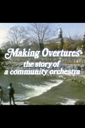 Making Overtures: The Story of a Community Orchestra Poster