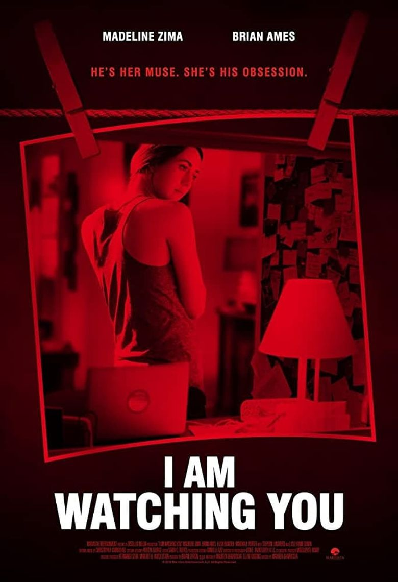 I Am Watching You Poster