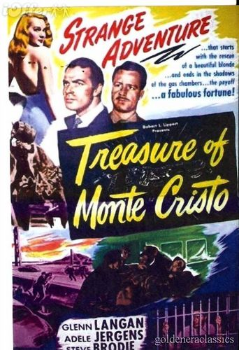 Treasure of Monte Cristo Poster