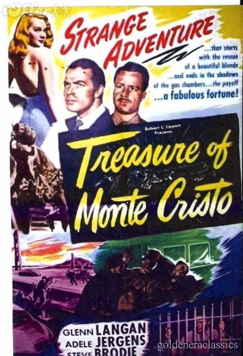 Treasure of Monte Cristo Poster