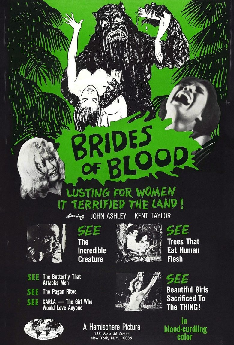 Brides of Blood Poster