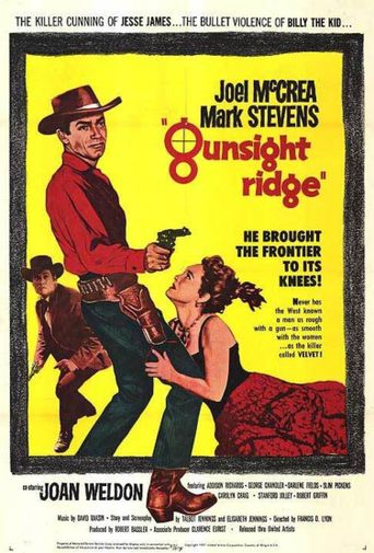 Gunsight Ridge Poster