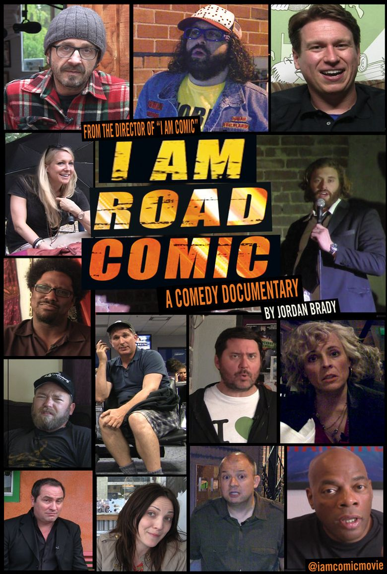 I Am Road Comic Poster