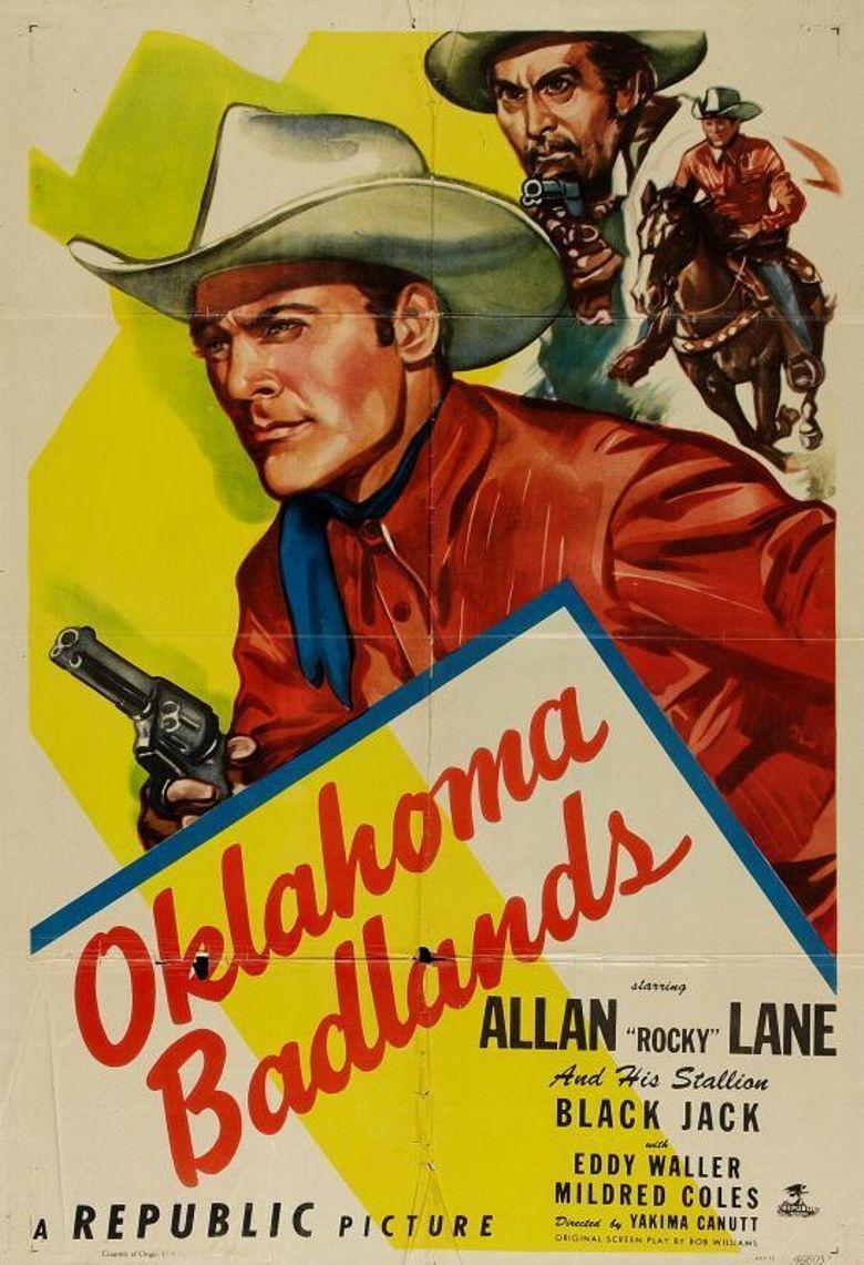 Oklahoma Badlands Poster