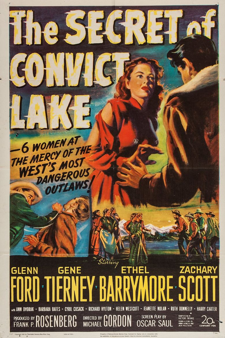 The Secret of Convict Lake Poster