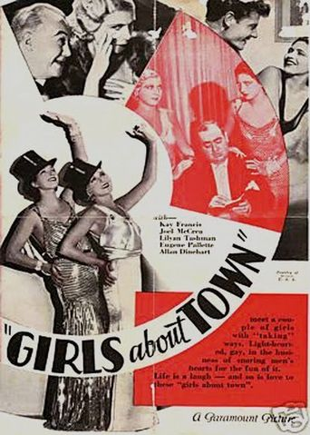 Girls About Town Poster
