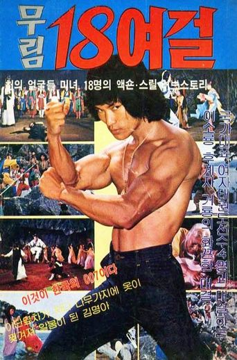 18 Heroines Of The Martial World Poster