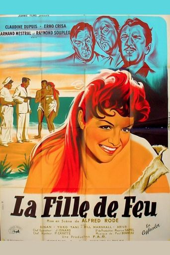 La Fille de feu Poster