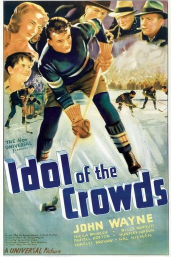 Idol of the crowds Poster