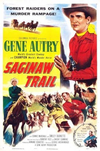 Saginaw Trail Poster