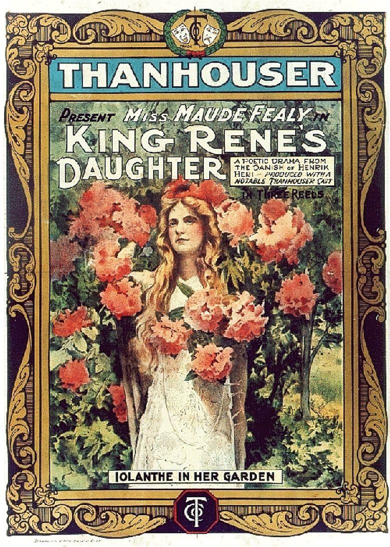 King Rene's Daughter Poster