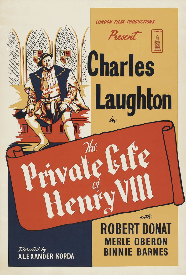 The Private Life of Henry VIII Poster