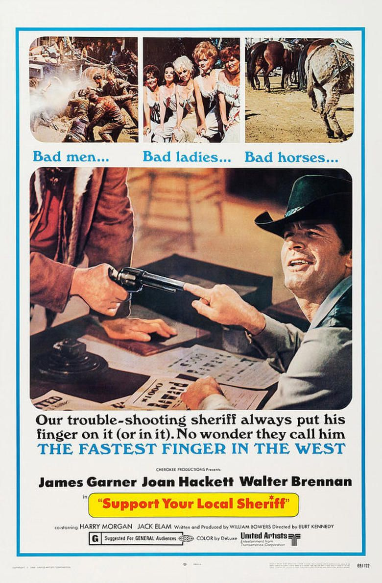 Support Your Local Sheriff Poster