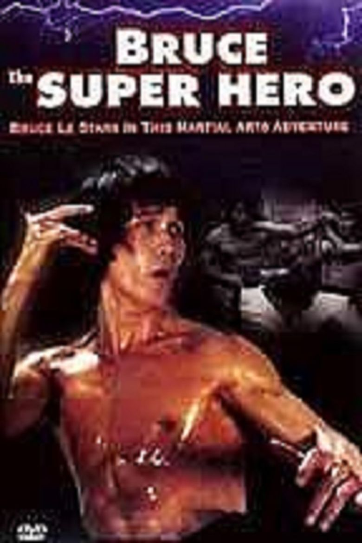 Bruce the Super Hero Poster