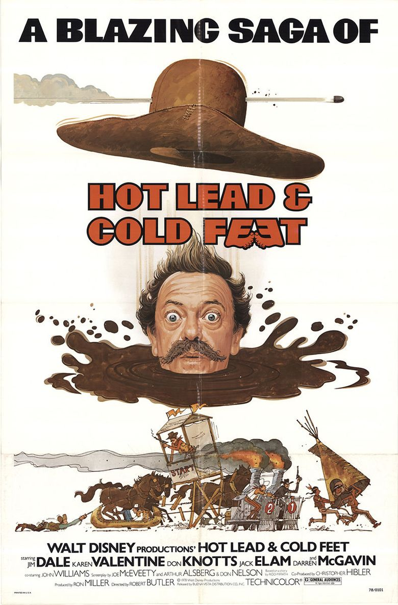 Hot Lead & Cold Feet Poster