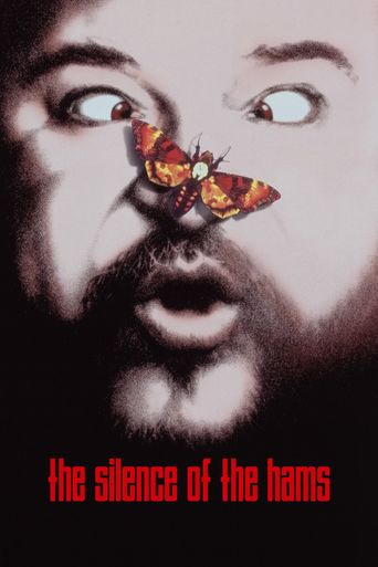 The Silence of the Hams Poster