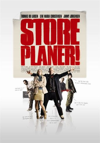 Store planer Poster