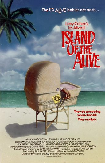 It's Alive III: Island of the Alive Poster