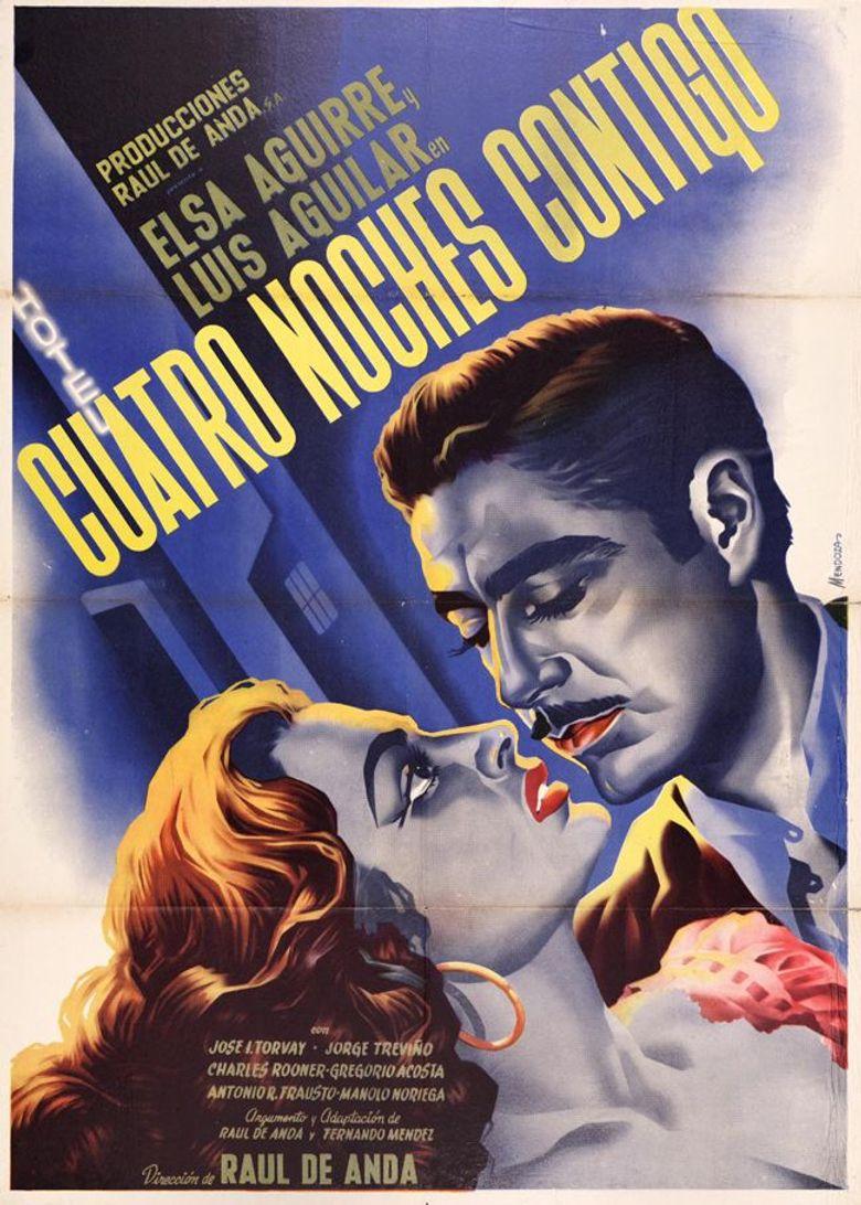 Cuatro noches contigo Poster