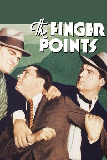 The Finger Points Poster