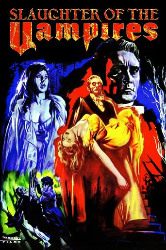 The Slaughter of the Vampires Poster