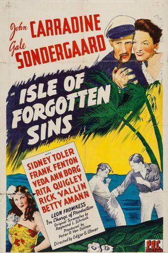 Isle of Forgotten Sins Poster