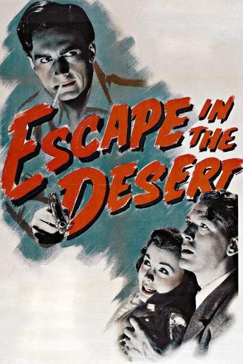 Escape in the Desert Poster