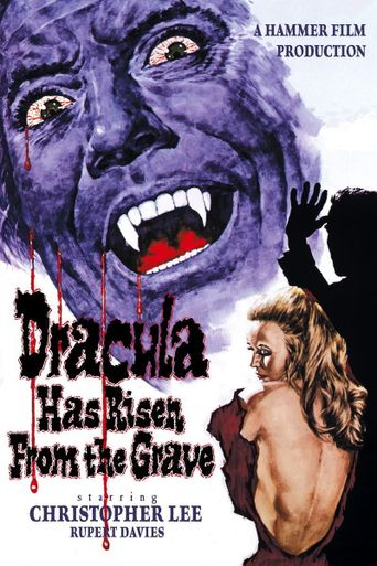 Dracula Has Risen from the Grave Poster