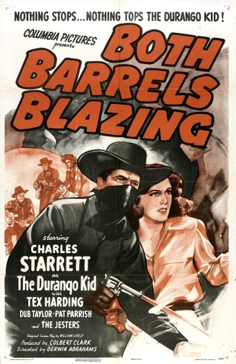 Both Barrels Blazing Poster