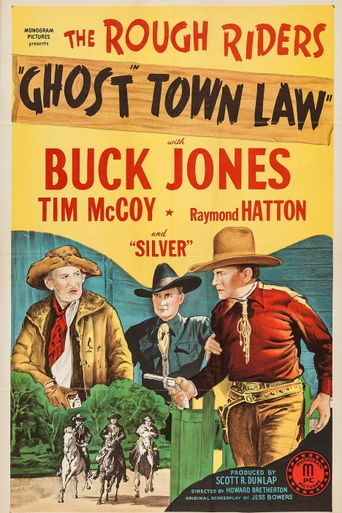 Ghost Town Law Poster