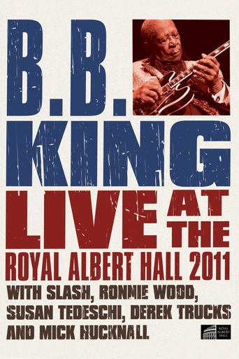 B.B. King: Live at the Royal Albert Hall Poster