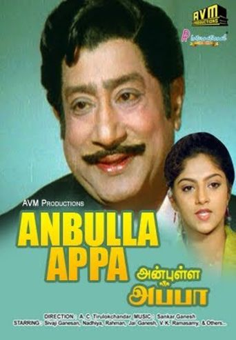 Anbulla Appa Poster