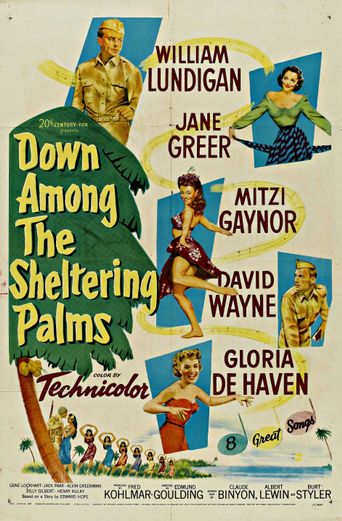 Down Among the Sheltering Palms Poster