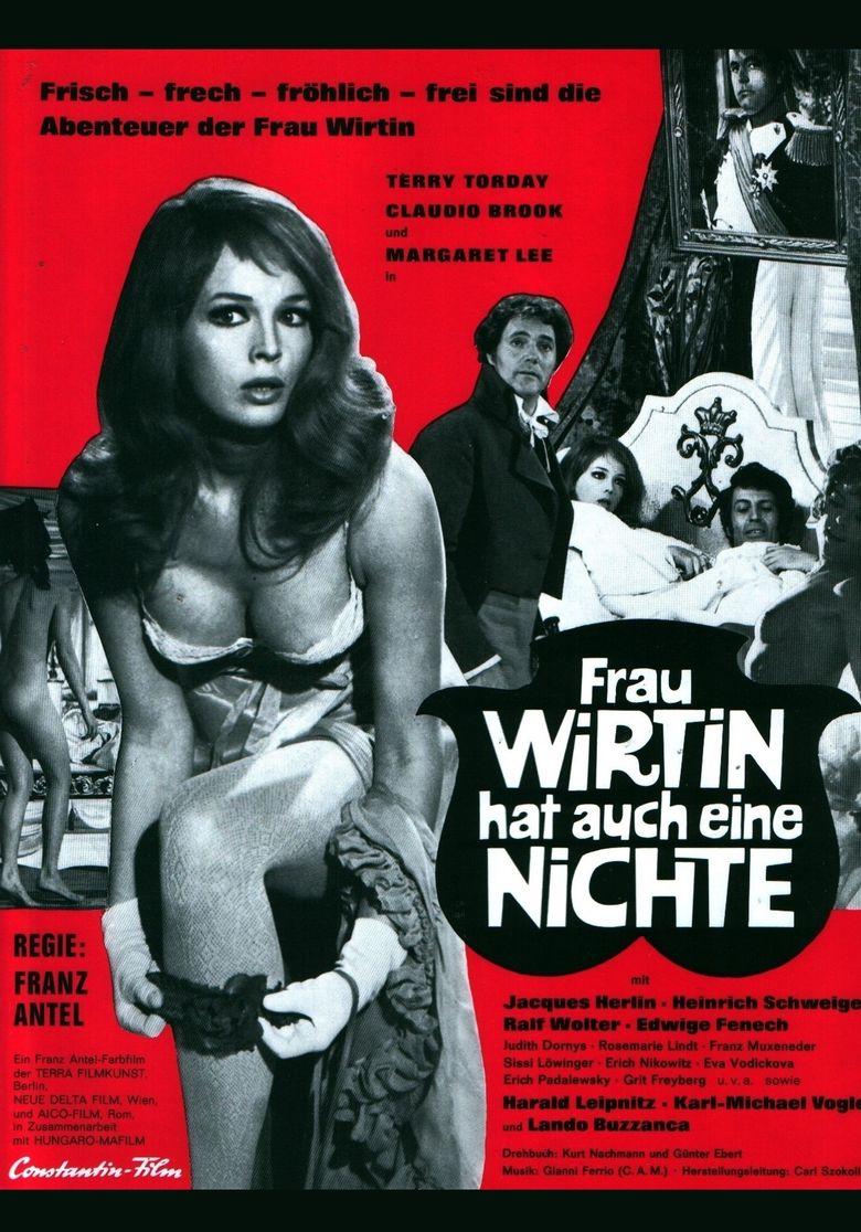 Frau Wirtin hat auch eine Nichte Poster