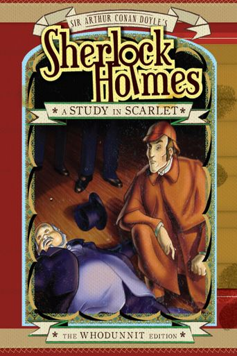 Sherlock Holmes and a Study in Scarlet Poster