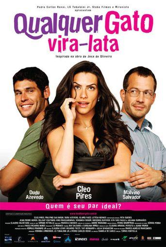 Qualquer Gato Vira-Lata Poster