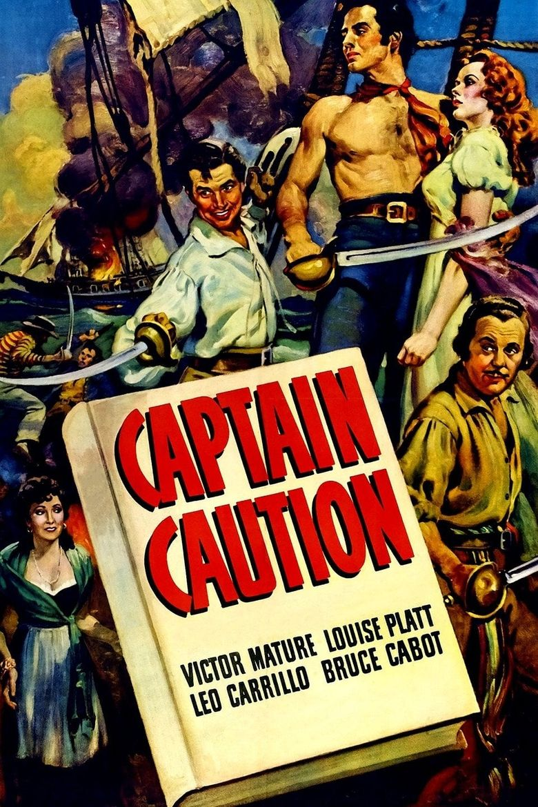 Captain Caution Poster