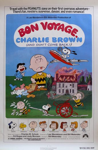 Watch Bon Voyage, Charlie Brown (and Don't Come Back!)