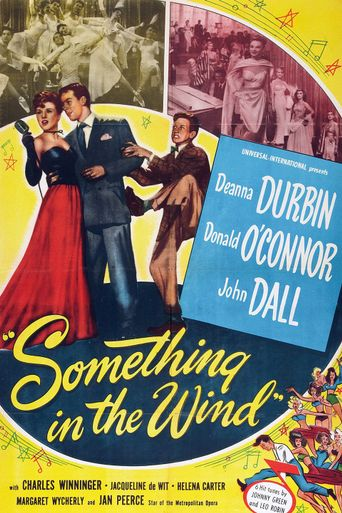 Something in the Wind Poster