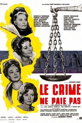 Le Crime ne paie pas Poster
