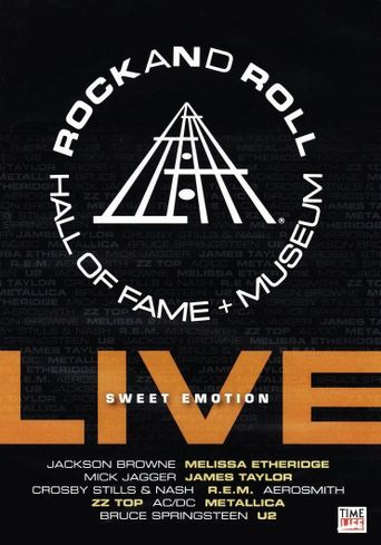Rock and Roll Hall of Fame Live: Sweet Emotion Poster